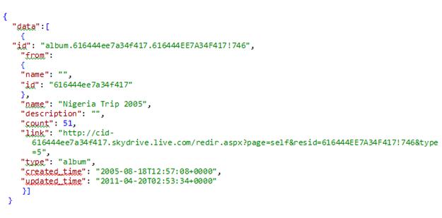 JSON コード例