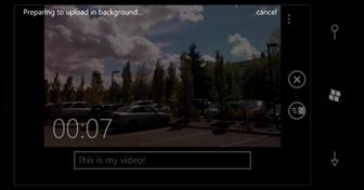 SkyDrive で動画を共有する